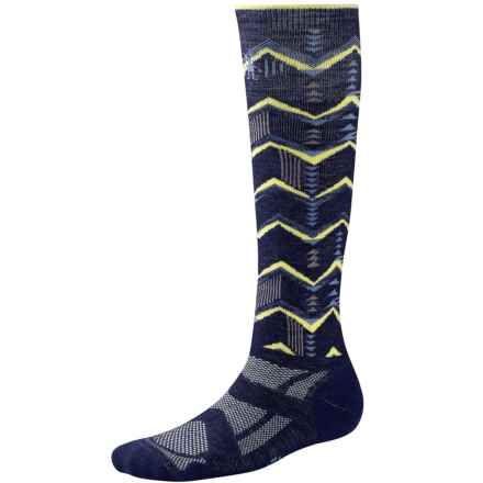 SmartWool Snowboard Socks - Merino Wool, Over the Calf (For Women) in Ink - Closeouts