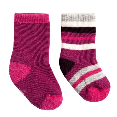 SmartWool Sock Sampler - 2-Pack, Merino Wool (For Infants and Toddlers)