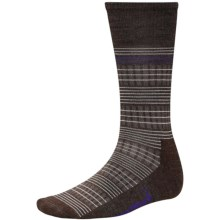 SmartWool Spinner Winner Socks - Merino Wool, Mid Calf (For Men and Women) in Chestnut Heather - Closeouts