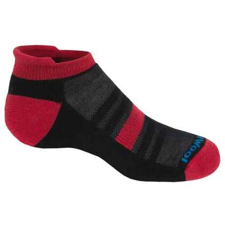 SmartWool Sport Micro Socks - Merino Wool, Ankle (For Little and Big Kids) in Black - Closeouts