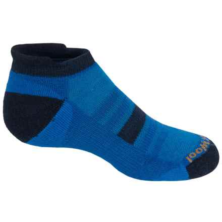 SmartWool Sport Micro Socks - Merino Wool, Ankle (For Little and Big Kids) in Bright Blue - Closeouts