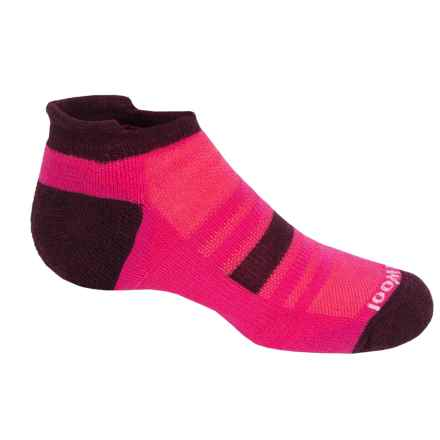 SmartWool Sport Micro Socks - Merino Wool, Ankle (For Little and Big Kids) in Bright Pink - Closeouts