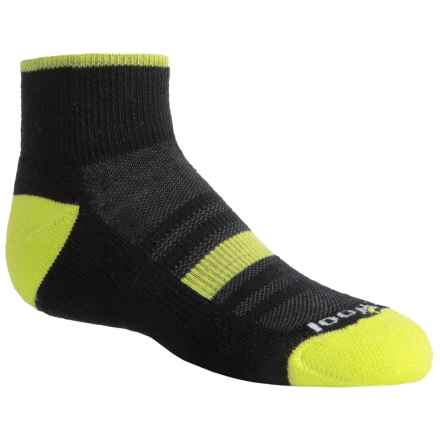 SmartWool Sport Mini Socks - Merino Wool, Crew (For Little and Big Kids) in Black - Closeouts
