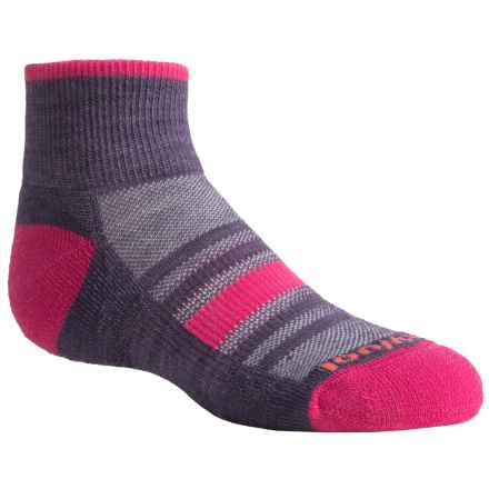 SmartWool Sport Mini Socks - Merino Wool, Crew (For Little and Big Kids) in Desert Purple - Closeouts