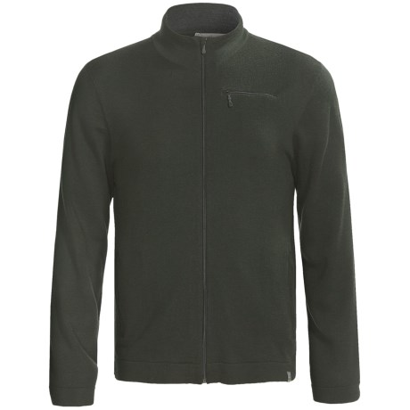 SmartWool Sportknit Full-Zip Sweater - Long Sleeve (For Men) in Forest