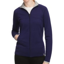 SmartWool SportKnit Sweater - Merino Wool, Full Zip (For Women) in Imperial Purple - Closeouts