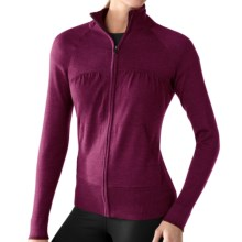 SmartWool SportKnit Sweater - Merino Wool, Full Zip (For Women) in Wine - Closeouts