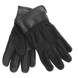 SmartWool Stagecoach Gloves - Merino Wool (For Men and Women) in Med Grey Heather