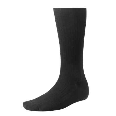 SmartWool Stand-Up Graduated Compression Socks - Merino Wool, Over-the-Calf (For Men and Women) in Black - 2nds