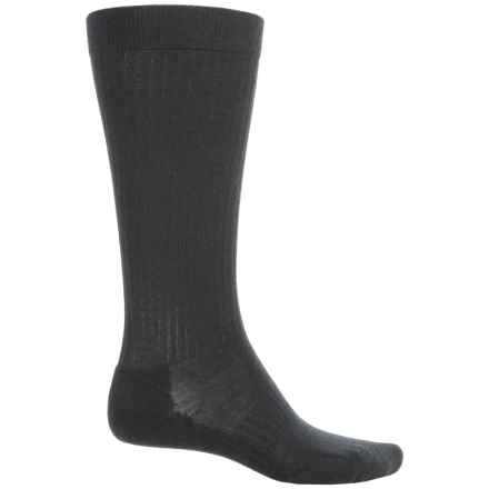 SmartWool Stand-Up Graduated Compression Socks - Merino Wool, Over the Calf (For Men) in Black - Closeouts