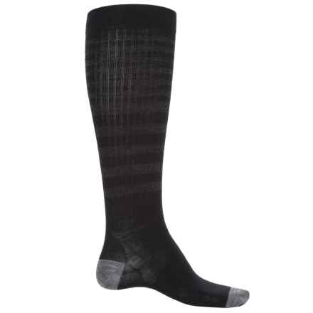 SmartWool Standup Graduated Compression Socks - Merino Wool, Over the Calf (For Men) in Black - Closeouts