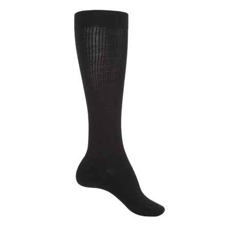 SmartWool Standup Graduated Compression Socks - Merino Wool, Over the Calf (For Women) in Black - Closeouts