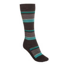 SmartWool Standup Graduated Compression Socks - Merino Wool, Over the Calf (For Women) in Taupe Heather - Closeouts