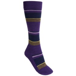 SmartWool StandUP Socks - Merino Wool, Compression (For Women) in Imperial Purple