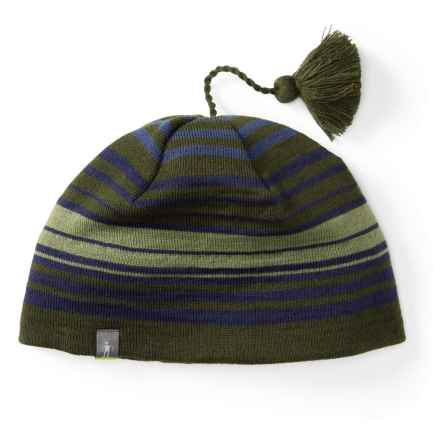SmartWool Straightline Beanie - Merino Wool (For Men and Women) in Loden - Closeouts