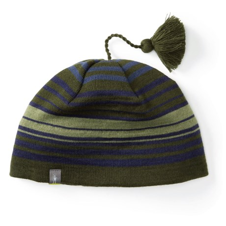 SmartWool Straightline Beanie - Merino Wool (For Men and Women) in Loden