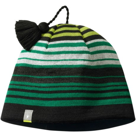 SmartWool Straightline It Hat - Merino Wool (For Men and Women) in Clover