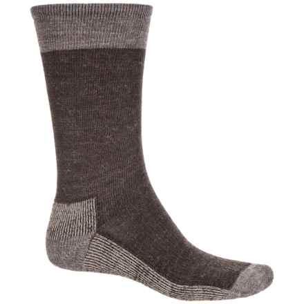 SmartWool Street Hiker Socks - Merino Wool, Crew (For Men) in Chestnut - Closeouts