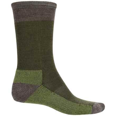 SmartWool Street Hiker Socks - Merino Wool, Crew (For Men) in Loden Heather - 2nds