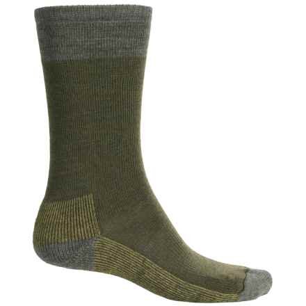 SmartWool Street Hiker Socks - Merino Wool, Crew (For Men) in Loden Heather - 2nds