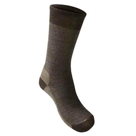 SmartWool Street Hiker Socks - Merino Wool, Crew (For Men) in Taupe Heather - 2nds