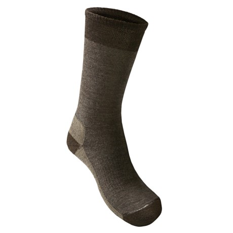 SmartWool Street Hiker Socks - Merino Wool, Crew (For Men) in Taupe Heather