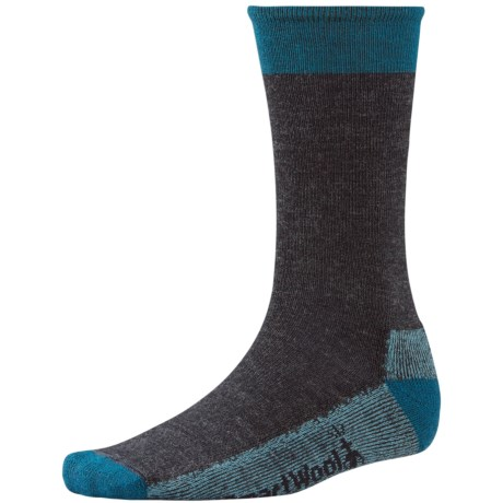 SmartWool Street Hiker Socks - Merino Wool (For Men) in Charcoal/Deep Sea