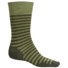 SmartWool Stria Socks - Merino Wool, Crew (For Men) in Loden Heather - 2nds