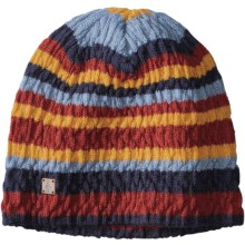 SmartWool Striped Chevron Beanie - Merino Wool (For Women) in Moab Rust - Closeouts