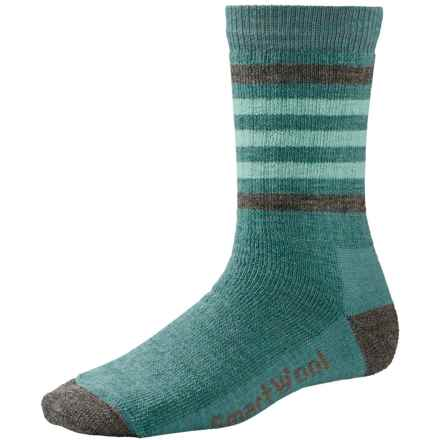 SmartWool Striped Hike Light Socks - Merino Wool, Crew (For Women) in Canton - 2nds