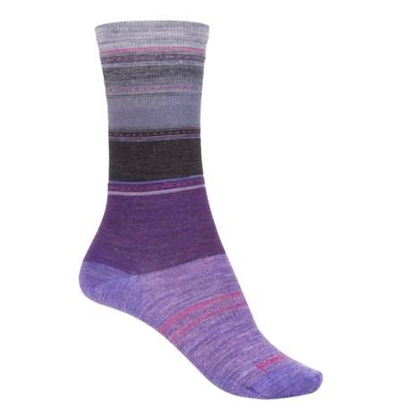 SmartWool Sulawesi Stripe Socks - Merino Wool, Crew (For Women)