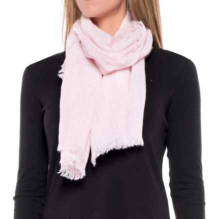 SmartWool Summit County Scarf - Merino Wool (For Women) in Pink Horizon - Closeouts