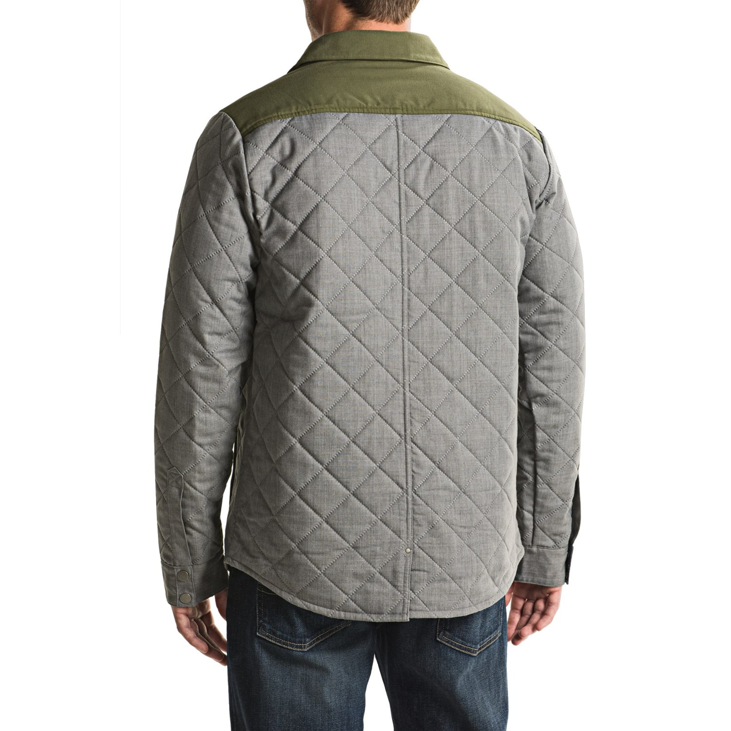 Smartwool Summit Quilted Shirt Jacket For Men