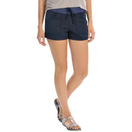 SmartWool Sweetwater Ranch Shorts - Merino Wool (For Women) in Deep Navy - Closeouts