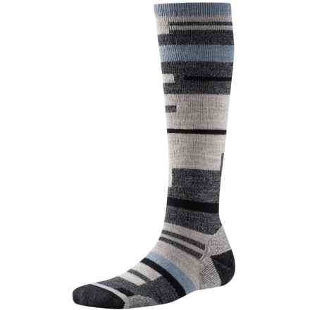 SmartWool Techno Tango Knee-High Socks - Merino Wool, Over the Calf (For Women) in Charcoal Heather - Closeouts