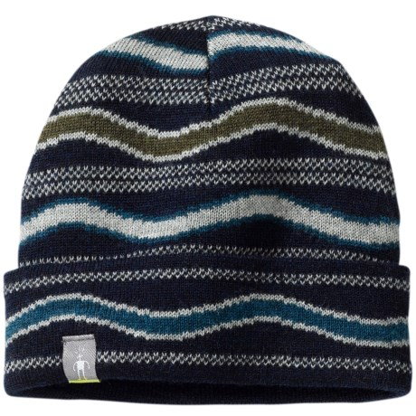 SmartWool Tectonic Hat - Merino Wool (For Infants and Toddlers) in Deep Navy Heather