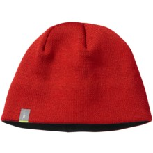 SmartWool The Lid Beanie Hat - Merino Wool (For Men and Women) in Bright Red - Closeouts