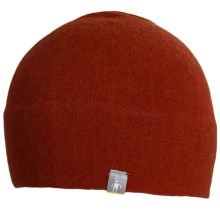 SmartWool The Lid Beanie Hat - Merino Wool (For Men and Women) in Canyon Heather - Closeouts