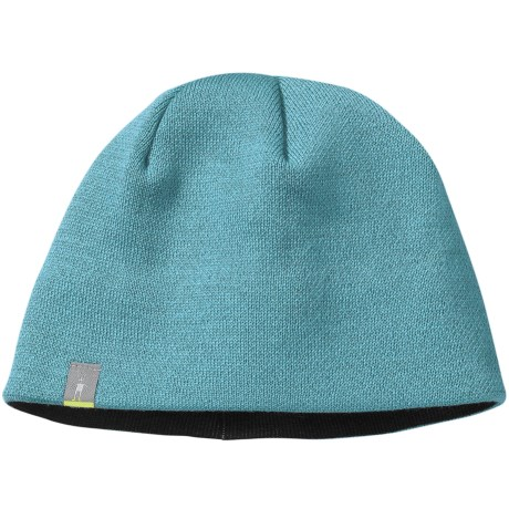 SmartWool The Lid Beanie Hat - Merino Wool (For Men and Women) in Clearwater