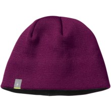 SmartWool The Lid Beanie Hat - Merino Wool (For Men and Women) in Dark Berry - Closeouts