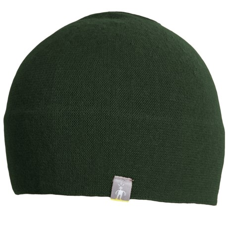 SmartWool The Lid Beanie Hat - Merino Wool (For Men and Women) in Evergreen