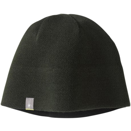 SmartWool The Lid Beanie Hat - Merino Wool (For Men and Women) in Forest