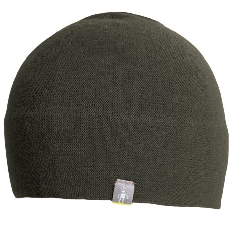 SmartWool The Lid Beanie Hat - Merino Wool (For Men and Women) in Loden