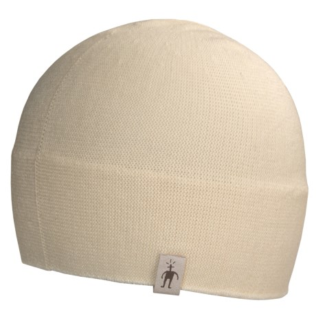 SmartWool The Lid Beanie Hat - Merino Wool (For Men and Women) in Dark Berry