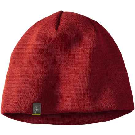 SmartWool The Lid Beanie - Merino Wool (For Men and Women) in Moab Rust - Closeouts