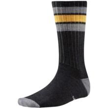 SmartWool Thunder Creek Socks - Merino Wool, Crew (For Men) in Black - Closeouts