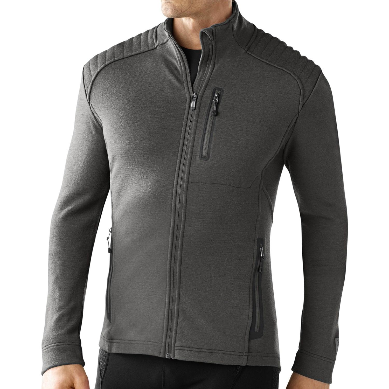 Smartwool tml heavy full zip shirt merino wool for Merino wool shirt long sleeve