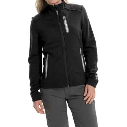 SmartWool TML Heavy Midlayer Jacket - Merino Wool (For Women) in Black - Closeouts