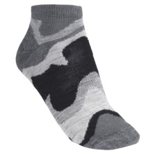 SmartWool Tranquil Sands Socks - Merino Wool, Micro Mini (For Women) in Slate - 2nds
