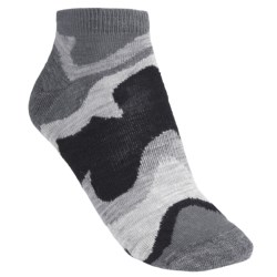 SmartWool Tranquil Sands Socks - Merino Wool, Micro Mini (For Women) in Slate
